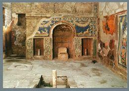 °°° Cartolina - Ercolano Casa Di Poseidone E Anfitrite Mosaico Nuova °°° - Ercolano