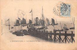"""¤¤   -  ILE De NOIRMOUTIER   -   Les Régates En 1904   -   Bateaux """" Emile SOLACROUP """" , Voiliers     -   ¤¤ - Ile De Noirmoutier"""
