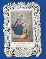 Image Religieuse Dentellée   Sainte Mère De Dieu - Andachtsbilder