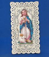 Image Religieuse Dentellée   Découpi    Année 1880 - Images Religieuses