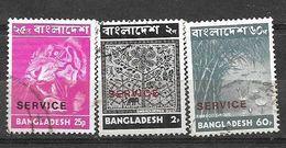 USED STAMPS BANGLADESH SERVICE STAMPS - Bangladesh