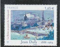 FRANCE 2014 JEAN DUFY LA SEINE AU PONT DU CARROUSEL NEUF** YT 4885 - - Unused Stamps