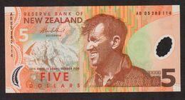 NUOVA ZELANDA (NEW ZEALAND) : 5 Dollars - 2006 - P185b  -  UNC - Neuseeland