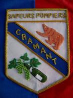 FANION DES SAPEURS POMPIERS CRAMANT (CANNETILLE) NEUF SOUS EMBALLAGE - Pompiers