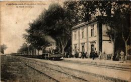 CPA Cazeres-sur-Garonne La Gare (612041) - Autres Communes