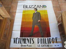 LE CATEAU NORD VÊTEMENTS PHILIPPE GRAND'PLACE BLIZZAND 150cm/116cm - Posters