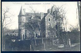 Cpa Du 22  Château De Kergoanton Façade Nord -- à Trélévern -- Près Penvénan    AVR20-151 - Penvénan
