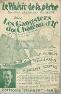 ALIBERT Partitions - LE PLAISIR DE LA PECHE  - éditions SALABERT  ( PARTITION ) V. SCOTTO - Musique & Instruments