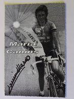 Maria CANINS - Signé / Dédicace Authentique / Autographe - Wielrennen