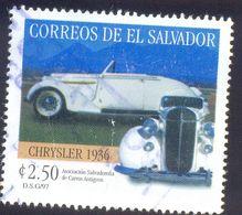 EL SALVADOR 250C USED STAMP 37769 CAR 1946 - El Salvador