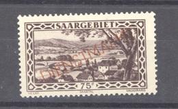 Sarre  -  Services  :  Yv  24  ** - Oficiales
