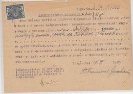 Generalgouvernement Intressante Bescheinigung - Bezetting 1938-45