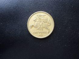 LITHUANIE : 20 CENTU   1997   KM 107    TTB - Lituanie