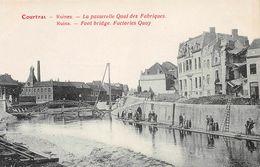Ruines La Passerelle Quai Des Fabriques - Kortrijk - Courtrai - Kortrijk