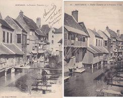 2 CP Montargis : 1) Le Puiseaux - Tanneries - 2) Vieilles Tanneries Sur Le Puiseaux - Montargis