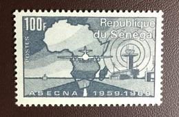 Senegal 1969 ASECNA Aircraft MNH - Senegal (1960-...)