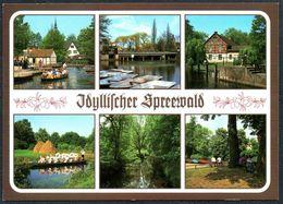 D1301 - TOP Spreewald - Bild Und Heimat Reichenbach Qualitäskarte - Luebben (Spreewald)
