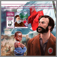 TOGO 2020 MNH Henry Dunant Red Cross S/S - OFFICIAL ISSUE - DHQ2022 - Henry Dunant