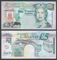 GIBILTERRA (GIBRALTAR)   :  5 Pounds - P20e - 2000 -  UNC - Gibilterra