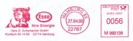 Freistempel 9877 Tiger Esso - Affrancature Meccaniche Rosse (EMA)
