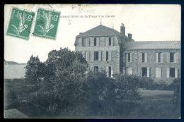 Cpa  Du 22 Saint Cast -- Grand Hôtel De La Plage à La Garde     AVR20-150 - Saint-Cast-le-Guildo