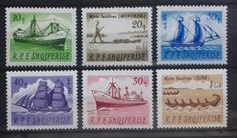 Albanien 1965, Schiffe Mi 1004-09 MNH Postfrisch - Albanien