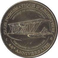 2013 MDP146 - ARGENTEUIL - Club Numismatique 2 (45 Ans) / MONNAIE DE PARIS - Monnaie De Paris