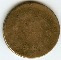 France Colonies 5 Centimes 1827 H KM 10.2 - Colonies
