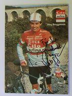 Jürg BRUGGMANN - Signé / Dédicace Authentique / Autographe - Cycling