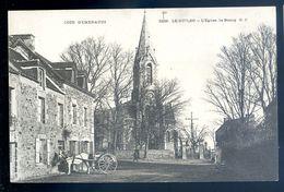 Cpa  Du 22 Le Guildo La Place  L' église Le Bourg  ----------- Saint Cast      AVR20-150 - Saint-Cast-le-Guildo
