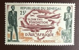 Senegal 1962 Air Afrique Aircraft MNH - Senegal (1960-...)