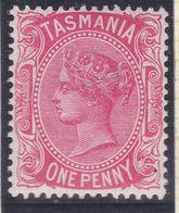 Tasmania 1878 P.14 SG 156 Mint Hinged - Neufs