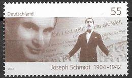 2004 Allem. Fed.Deutschland  Mi 2390  **MNH  100. Geburtstag Von Joseph Schmidt - [7] Repubblica Federale