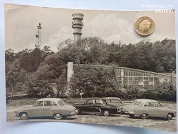 Petersberg, Saalkreis, Fernsehpavillion, 3 Wartburg 311, 1966 - Saalfeld