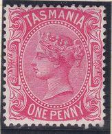 Tasmania 1878 P.14 SG 156a Mint Hinged - Neufs