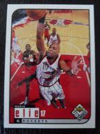 NBA - UPPER DECK 1997 - ROCKETS - MARIO ELIE - 1990-1999