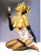Affiche Tirage Limité 400 Ex PIN UP Michel GOURDON ASLAN - Afiches