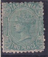Tasmania 1870 P.11.5 SG 129b Mint Hinged - Neufs