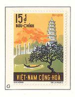 South Viet Nam - 1974 - SC 489 - Thien Mu Pagoda - MNH - Vietnam