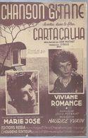 MARIE JOSE / VIVIANE ROMANCE  Partitions -  CHANSON GITANE  - éditions : REGIA ( PARTITION ) - Musique & Instruments