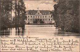 ! Alte Ansichtskarte Schloss Kapatschütz, Lkr. Trebnitz, Schlesien 1911 An Hauptmann Von Goerne 4. Garde Regiment Berlin - Poland
