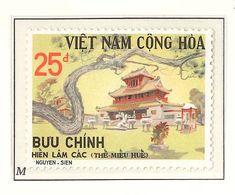 South Viet Nam - 1975 - SC 501 Hue Historic Sites - MNH - Vietnam