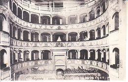 ITALIA - ARGENTA (ferrara) - Interno Teatro ......, Animata, Viag.1909- 2020-B-386,387 - Altre Città
