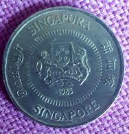 SINGAPORE : 10 CENTS 1985 KM 51 - Singapore