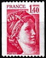 T.-P. Gommé Neuf** - Type Sabine Provenant De Roulettes - N° Rouge Au Verso : 770 - N° 2104a (Yvert) - France 1980 - Coil Stamps