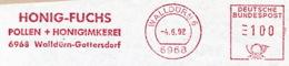 Freistempel 9907 Honig Fuchs Pollen Imkerei - Machine Stamps (ATM)