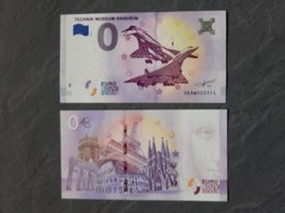 Billet Touristique 0 Euro Du Musée De Sinsheim  Concorde Tupolev - Autres