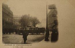 FIRE Paris (75) Incendie Du Theatre Francais - Le 8 Mars 1900 // 1900 - Rampen