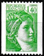 T.-P. Gommé Neuf** - Type Sabine Provenant De Roulettes - N° Rouge Au Verso : 310 - N° 2157a (Yvert) - France 1981 - Coil Stamps