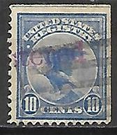 ETATS - UNIS    -   Recommandés   -   1911    .  Y&T N°  2 Oblitéré .   Aigle - Special Delivery, Registration & Certified